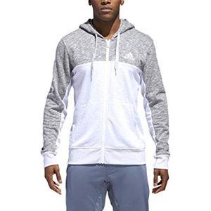 ADDIDAS~SZ XL~Full-Zip Sweatshirt Hoodie NWT $75